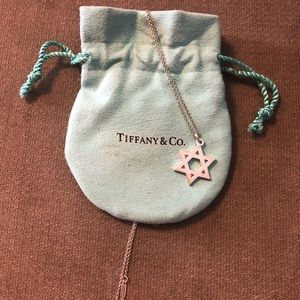 Star of David Tiffany & Co Necklace